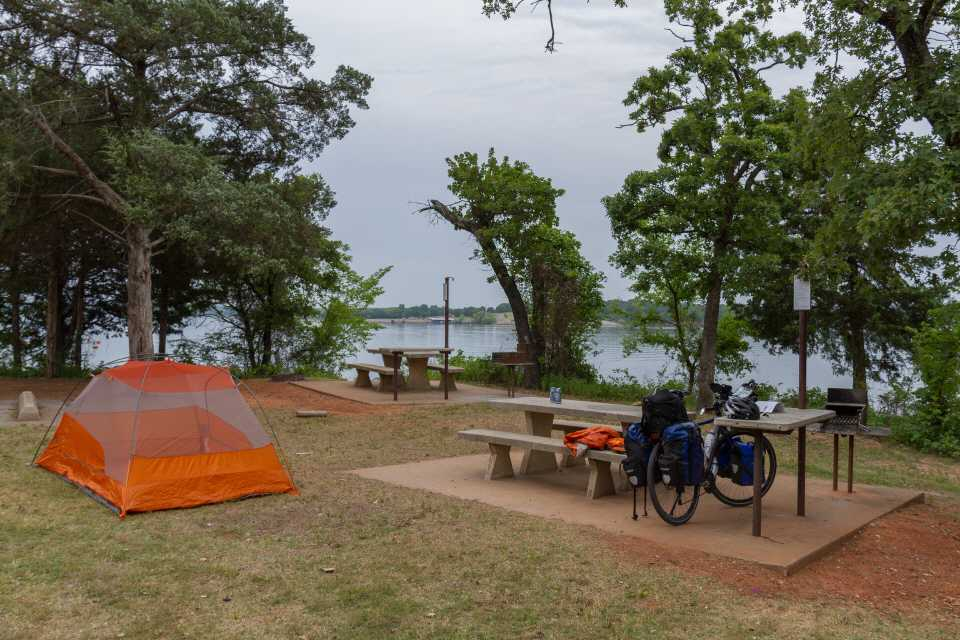Arcadia Lake State Park Campground